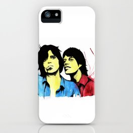 Keith & Mick iPhone Case