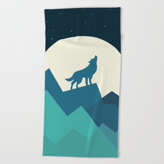 Keep The Wild In You Beach Towel