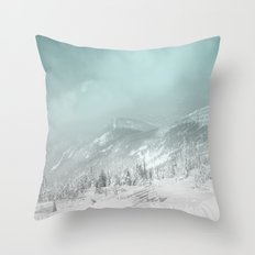 Blue mountains 2 Throw Pillow
