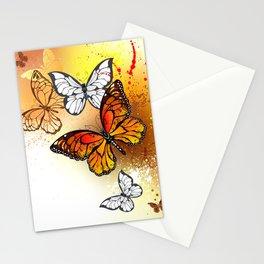 Summer Butterflies Monarchs Stationery Cards