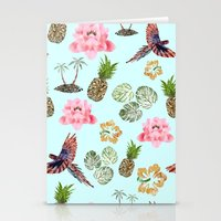 hawaiian Stationery Cards featuring Hawaiian by Christopher Bennett