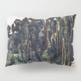 1880 - Paul Cezanne - Poplars Pillow Sham