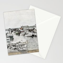 Fish Town Stationery Cards