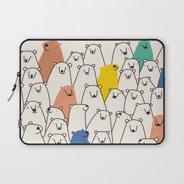 Bears party Laptop Sleeve