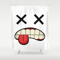 the xx Shower Curtains featuring XX by Rob Barrett — Nice Hot Cuppa