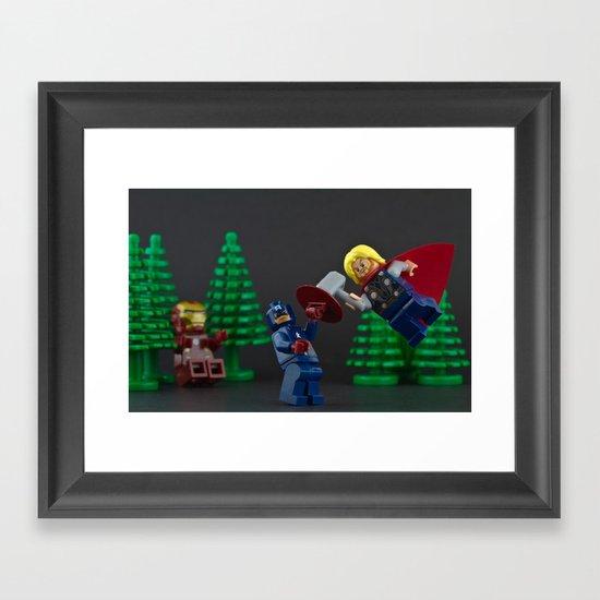 Hammer Time. Framed Art Print