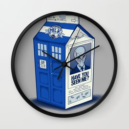 The Missing Silence Wall Clock