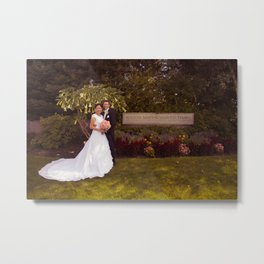 Oliver and Soye - Sign Metal Print