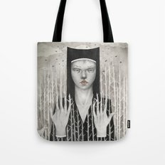 Forest Girl Tote Bag