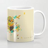 rio Mugs featuring Rio  by Nicksman