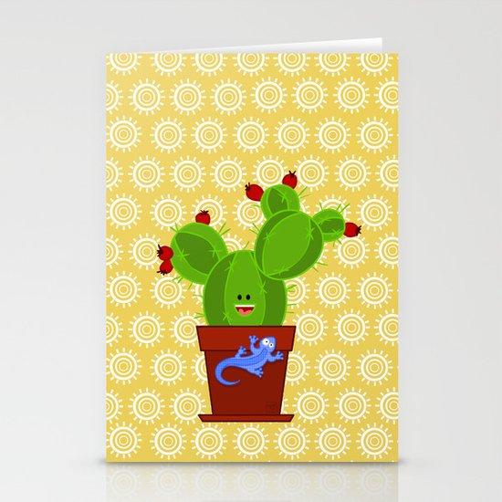 my dear cactus Stationery Cards