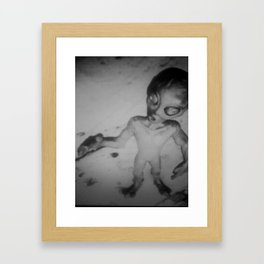 el chupacabra Framed Art Print
