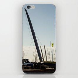 Sailboats Chars à voile iPhone Skin