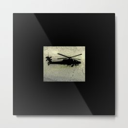 AH-64 Apache Metal Print
