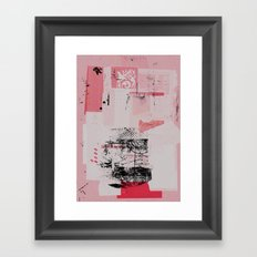 misprint 122 Framed Art Print