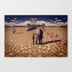 The road to hedonisum Canvas Print