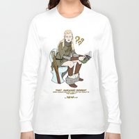 legolas Long Sleeve T-shirts featuring That Awkward Moment by Pat Pot Designs