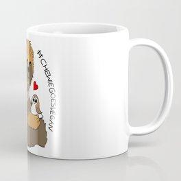 Stylized Chewie Goes Vegan Coffee Mug