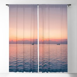 Balinese sunsets Blackout Curtain