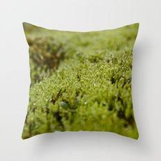 Field of Green Throw Pillow