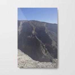 Jebel Shams, Oman Metal Print