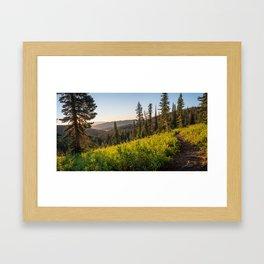 Fairy Lake Sunrise Framed Art Print