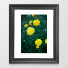 And it was all Yellow Framed Art Print