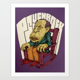Psychrock Art Print