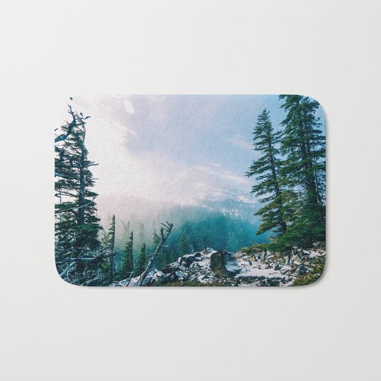Overlook the Wilderness Bath Mat