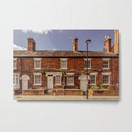 Street in Stratford Upon Avon England Metal Print