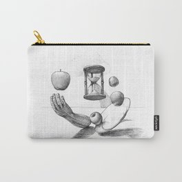 Apples and sandwatch Carry-All Pouch
