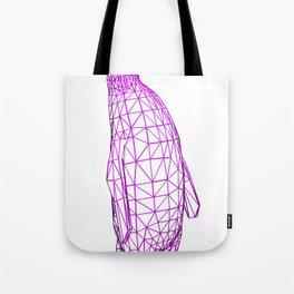 Wire Penguin Tote Bag