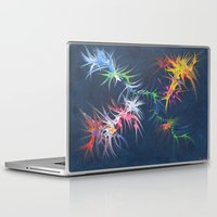 fireworks Laptop & iPad Skins featuring fireworks by TLCGATOR
