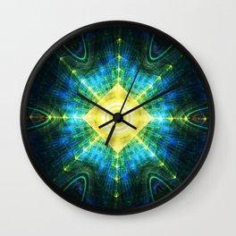 Eye of the Pyramid Wall Clock