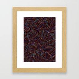 Sphering Framed Art Print