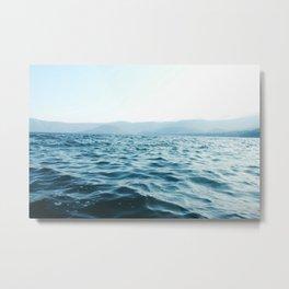 Volcano Lake Metal Print