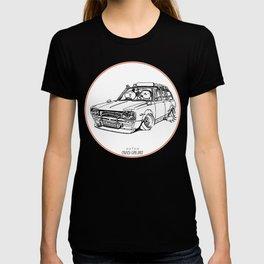 Crazy Car Art 0186 T-shirt