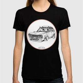 Crazy Car Art 0186 T-shirt