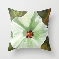 Flower Two Throw Pillow