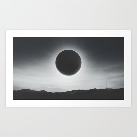Voyager - A Dive into Space and Universe Art Print