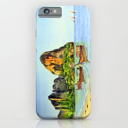 Long-tail Boats At Railay Beach Krabi Thailand iPhone Case