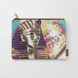 King Tut  Mask Abstract composition Carry-All Pouch