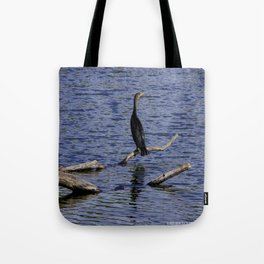 Chicago Coromorant (Chicago North Pond Collection) Tote Bag