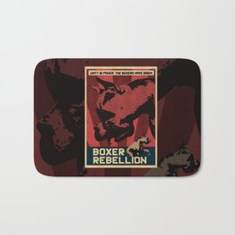 Boxer Rebellion  Bath Mat