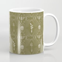 Ornamental Damask Hand Drawn Coffee Mug