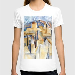 Pablo Picasso Houses on a Hill T-shirt