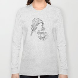 Distopian Dream Girl-Built To Spill Long Sleeve T-shirt