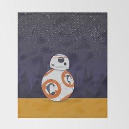 BB8 Throw Blanket