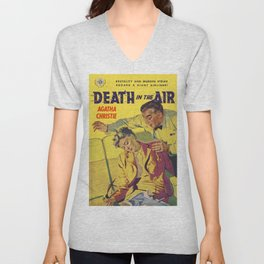 Agatha Christie - Death in The Air Unisex V-Neck