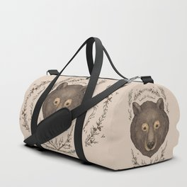 The Bear and Cedar Duffle Bag